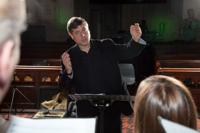 Stephen Rice Conducting